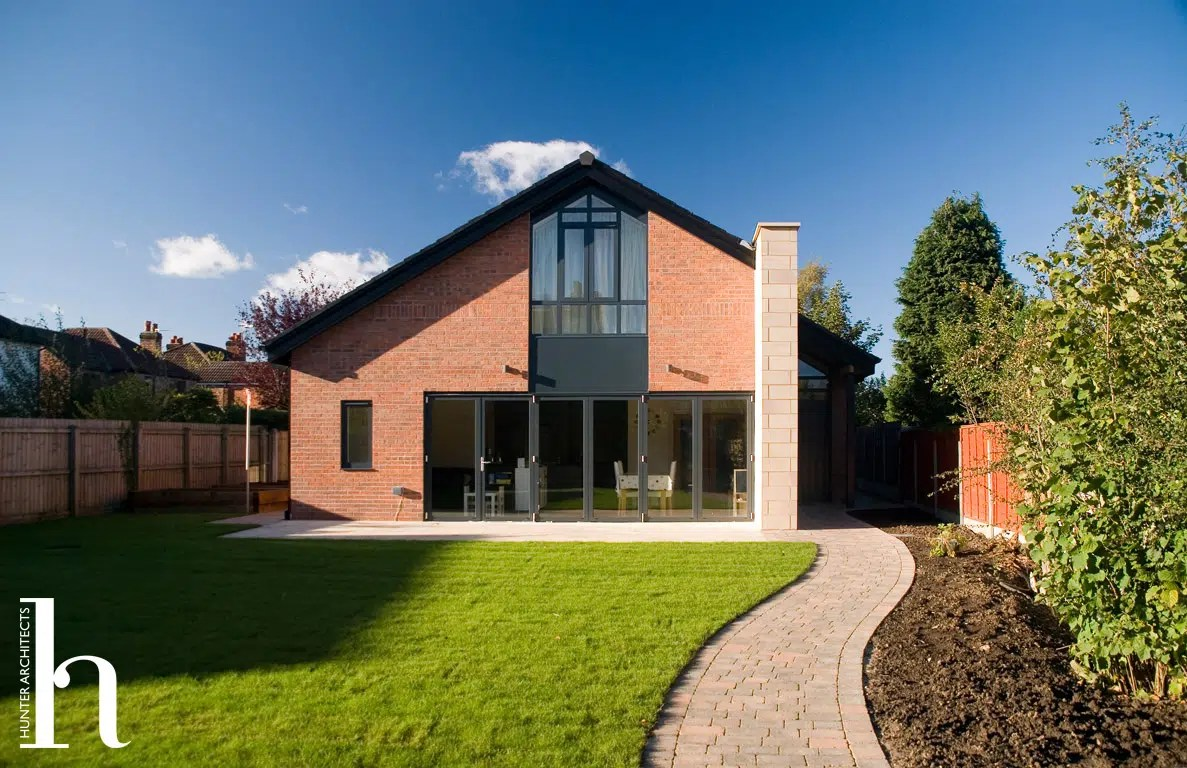 Bespoke Environmentally Friendly Home in Altrincham Cheshire