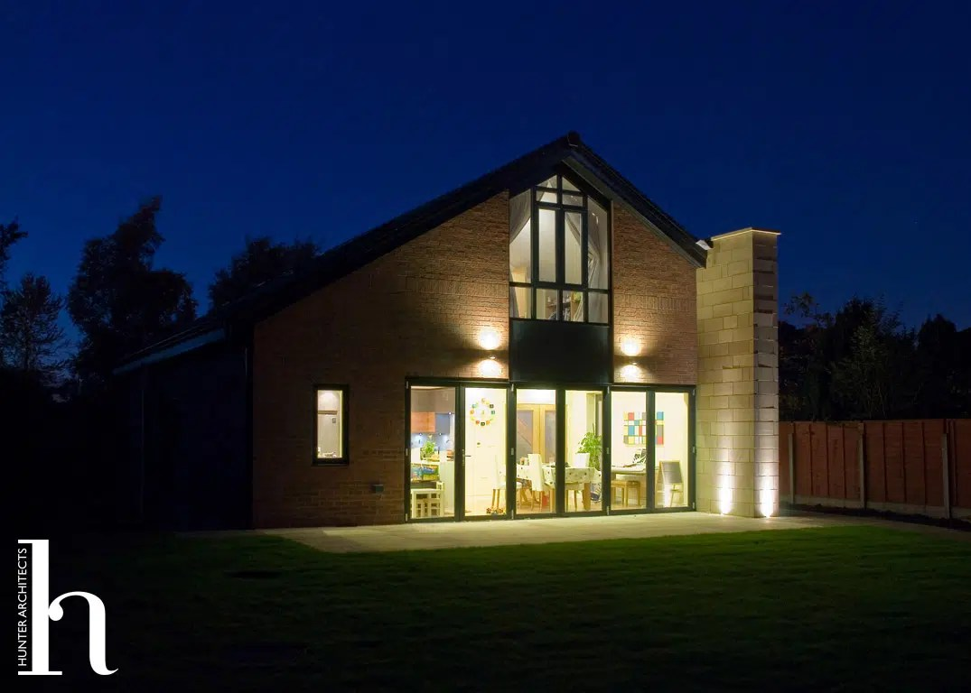 Architects in Altrincham providing bespoke high quality family homes