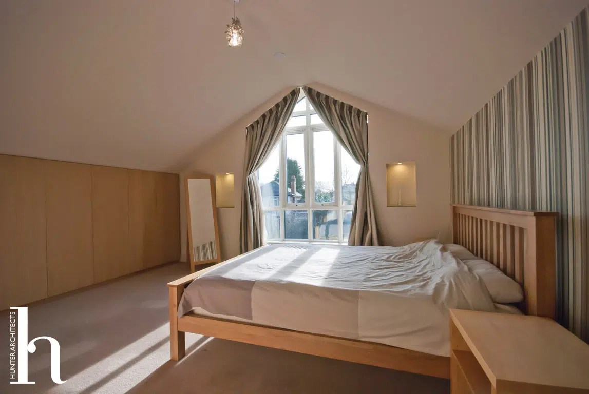 Master Bedroom for self build in Timperley Cheshire