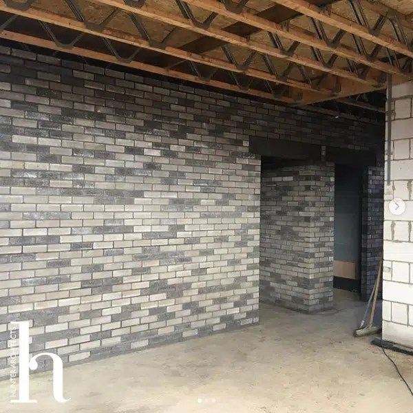 Engineered block wall Paragraph 55 Home