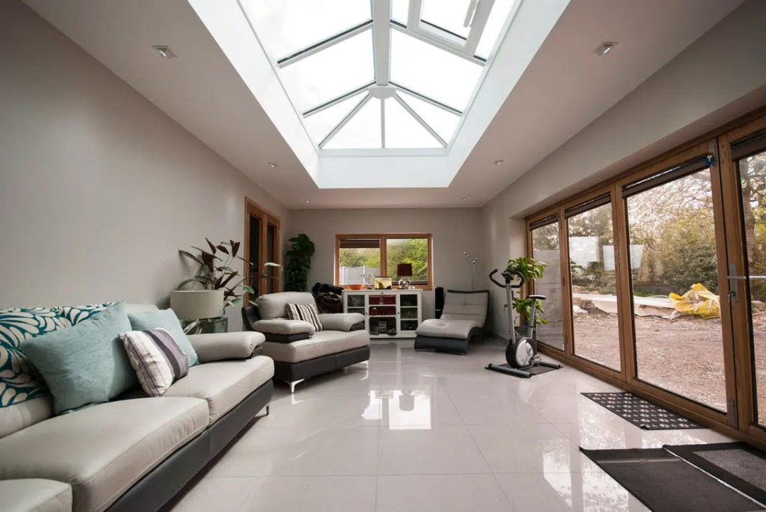 Contemporary Orangery Extension Architects in Flintshire North Wales