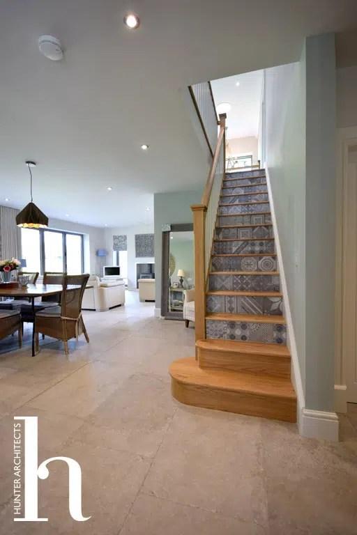Contemporary Open Plan family room