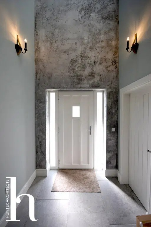 Open plan entrance by RIBA Architects