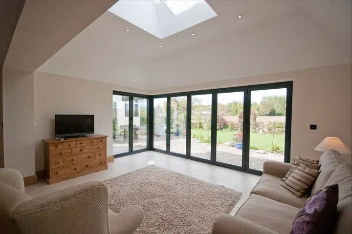 Planning Permission for Contemporary Garden Room Extension