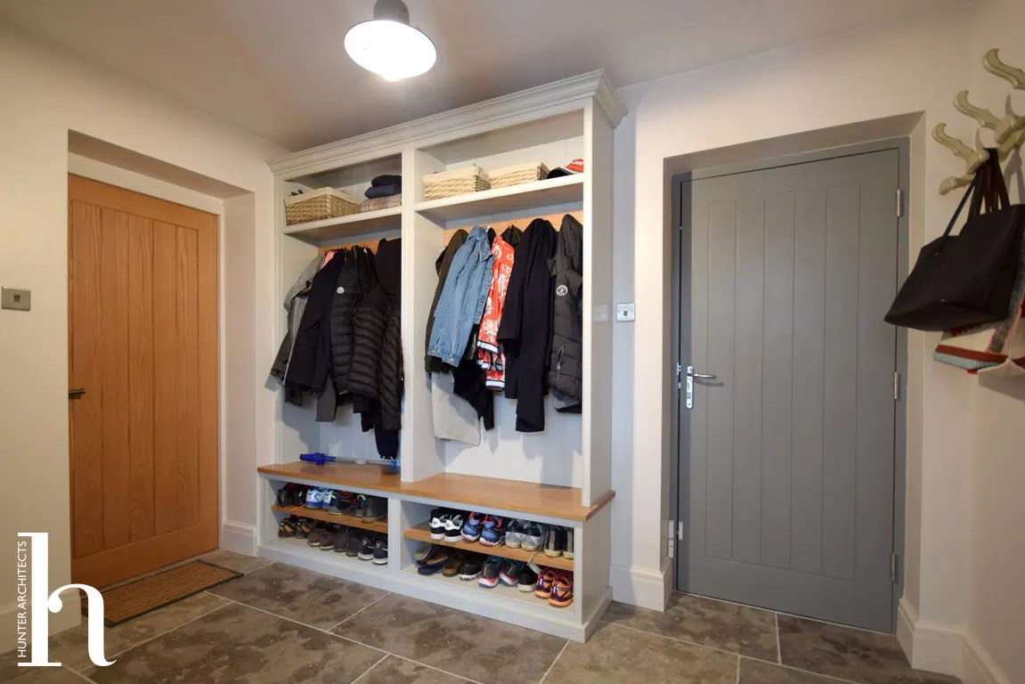 Boot Room accessed from Utility Room in Hale Cheshire