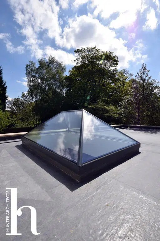 Roof Lantern to Garden Room in Altrincham