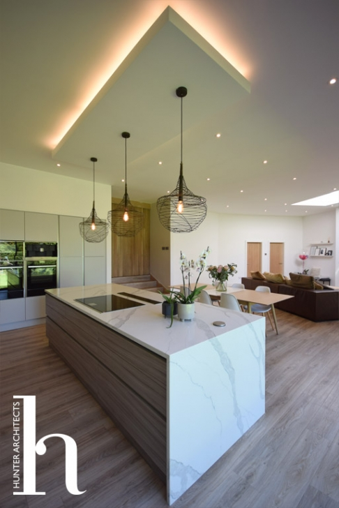 Cheshire contemporary kitchen extension