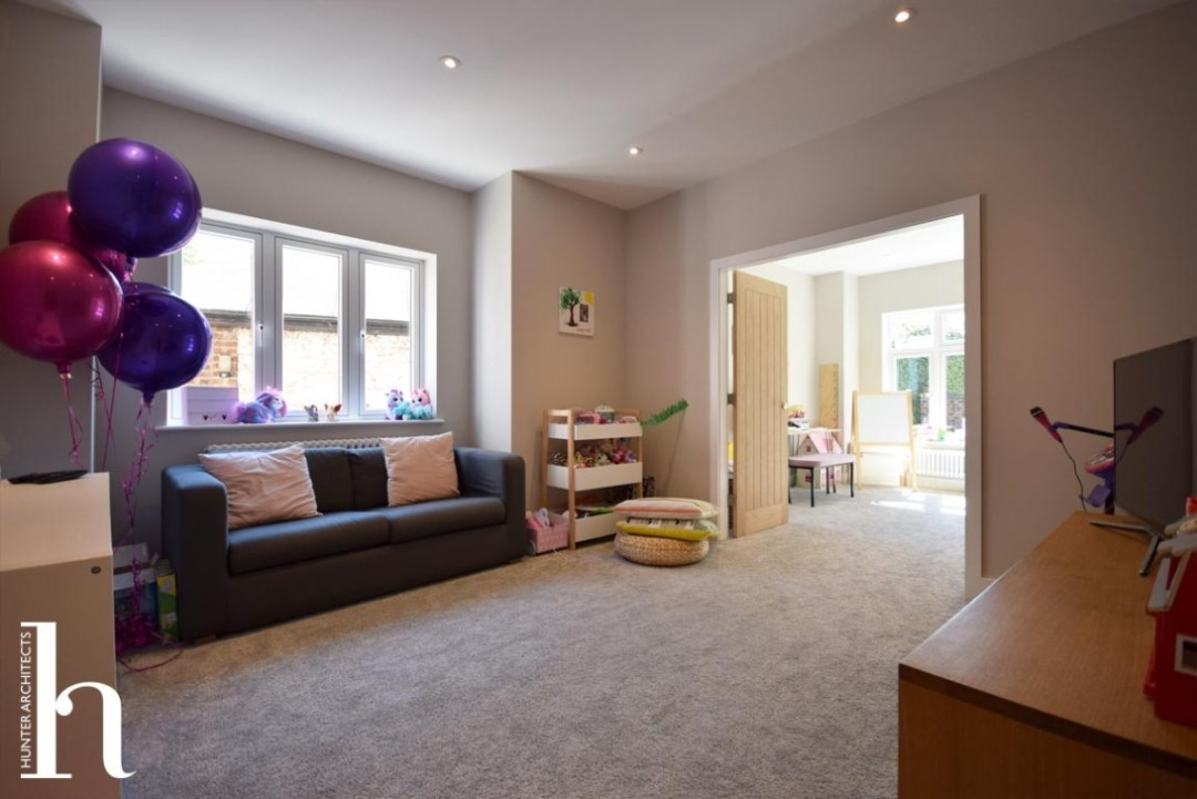 Altrincham house extension play room study