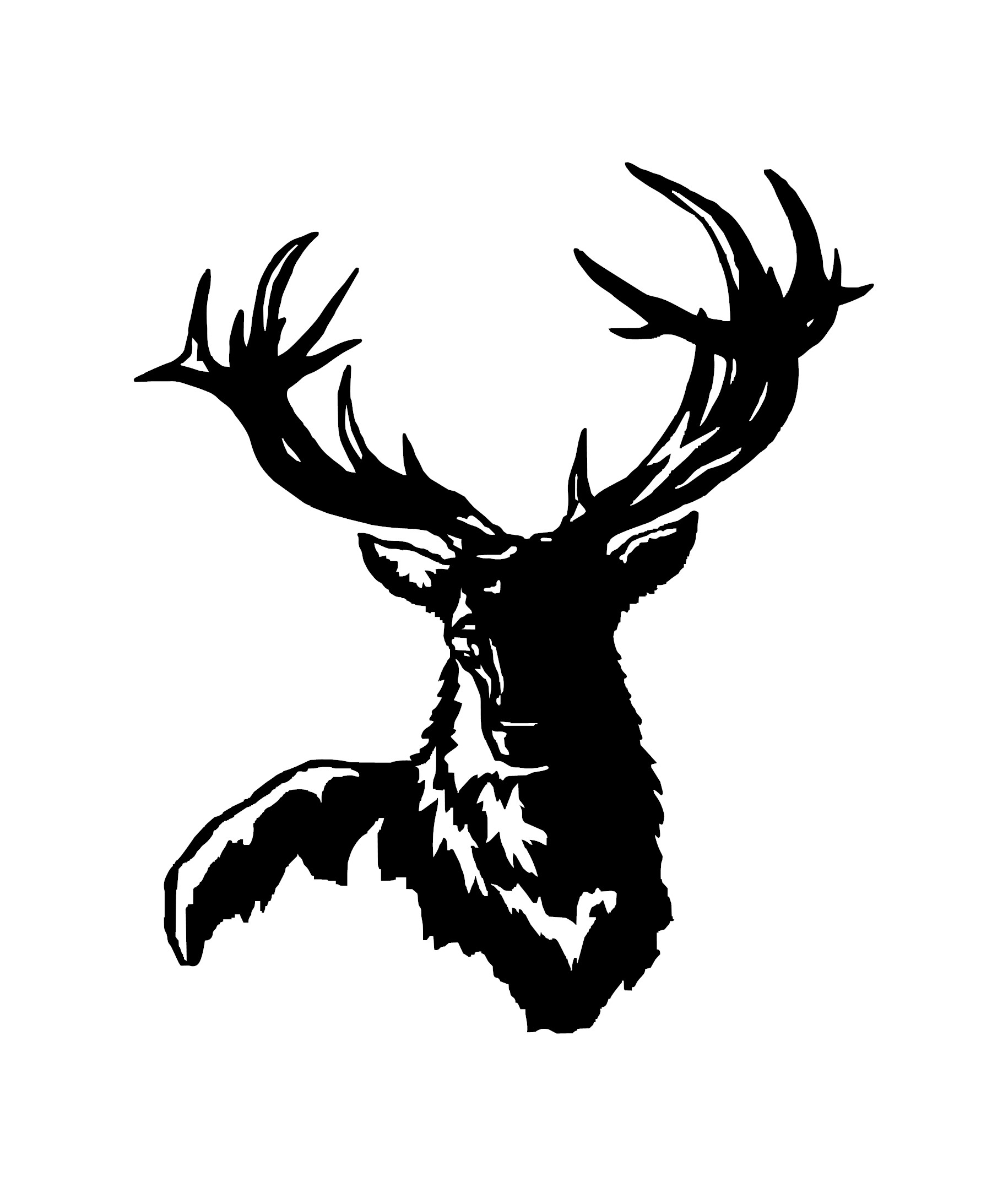 Trophy Stag Vinyl Decal Sticker From Hunting4art Nz