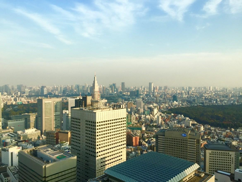 Tokyo; skyline; skyscraper