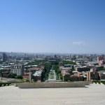 Cascade, Yerevan, Armenia, View, City, Ararat