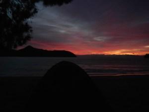 Apple Tree Bay, Camping, New Zealand