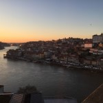 sunset, Porto, Portugal, view