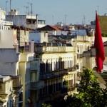 Morocco, Tanger, house
