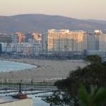 Tanger, beach, promenande