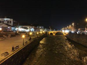 night, Prizren, Kosovo