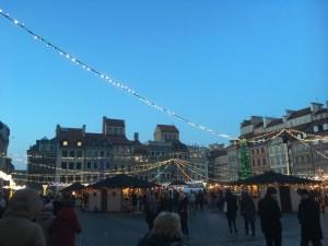 Warsaw, Christmas market