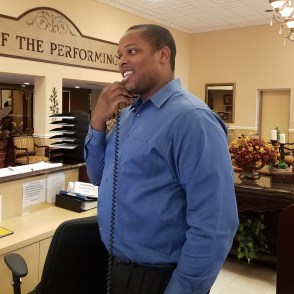 IT and Assistant Manager Mr. Marvin Chery