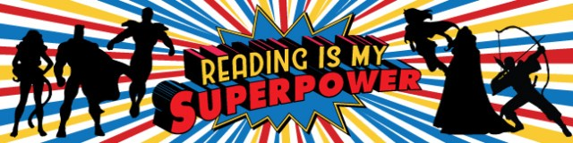 Image result for reading is a superpower clip art
