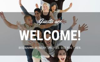 Guests are Welcome!