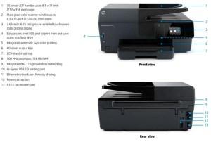 HP OfficeJet Pro 6830 A4 Colour Multifunction Inkjet