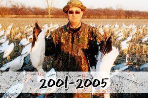 2001-2005 snow goose hunt photos