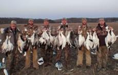 Spring 2012 snow goose hunters