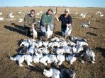 Snow goose hunting in South Dakota this year was incredible for the first few days.