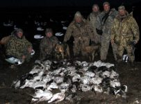 This field was very muddy in early March but the hunting was very good once you got into your blind.