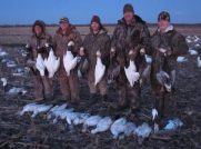 Another average day hunting snows.