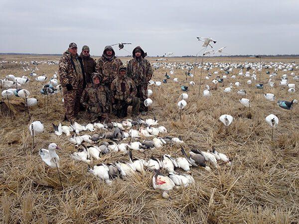 Arkansas 2015 Snow Goose Hunt 8