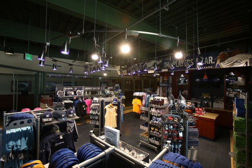 TEAM STORE ON THE CLUB LEVEL AT MILLER PARK