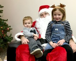 Employee Families Celebrate the Holidays