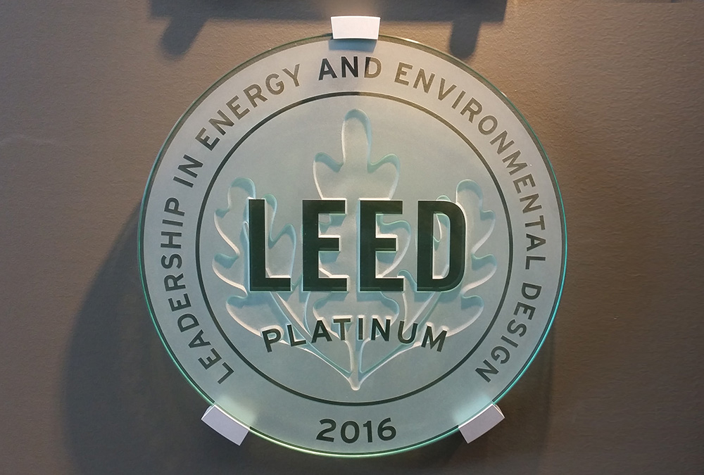 Gateway West Sustainable I Achieves Leed V 40 Eb Om Platinum