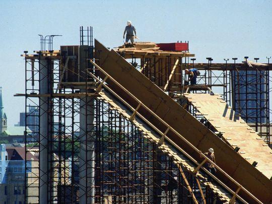 Bradley Center Under Construction