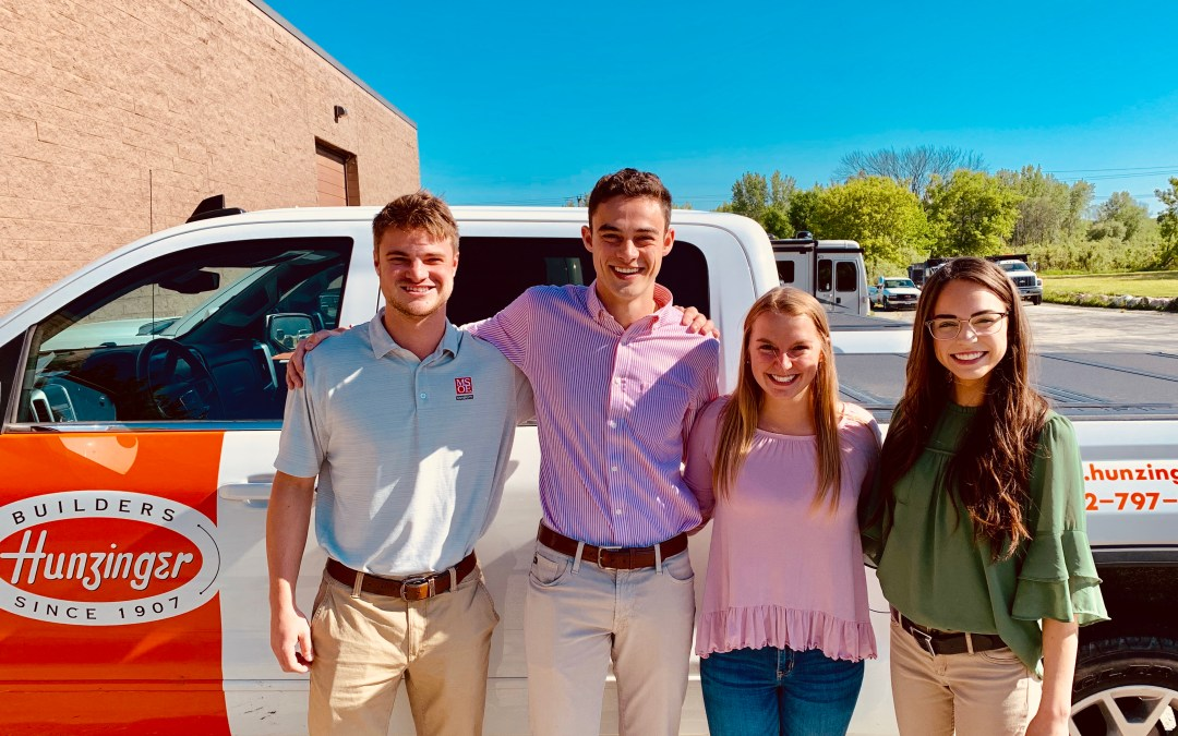 Hunzinger Welcomes Summer Interns