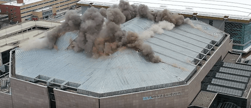 The BMO Harris Bradley Center Demolition
