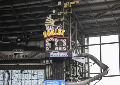 AMERICAN FAMILY FIELD Miller Lite Landing & Bernie's Chalet