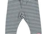 Baby Girls legging y/d stripe blue stripe