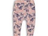 35C-34229 Baby trousers White + light pink +