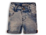 35C-34630 Baby jeans shorts Light blue jeans