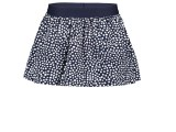 Y005-5740 Girls skirt with dot aop dots space blue
