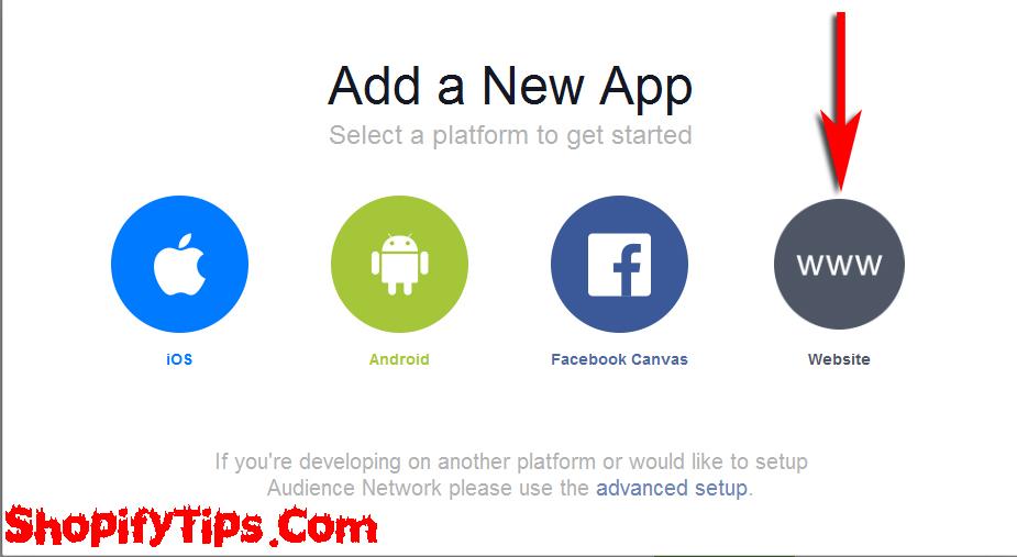 Get App ID and App Secret key from Facebook 2