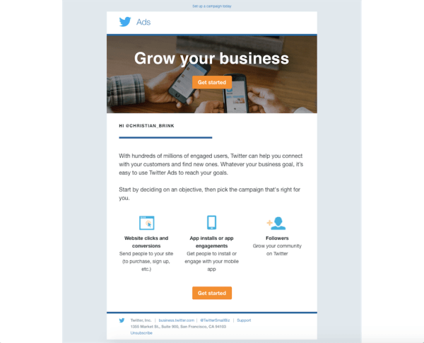 twitter-email-campaign