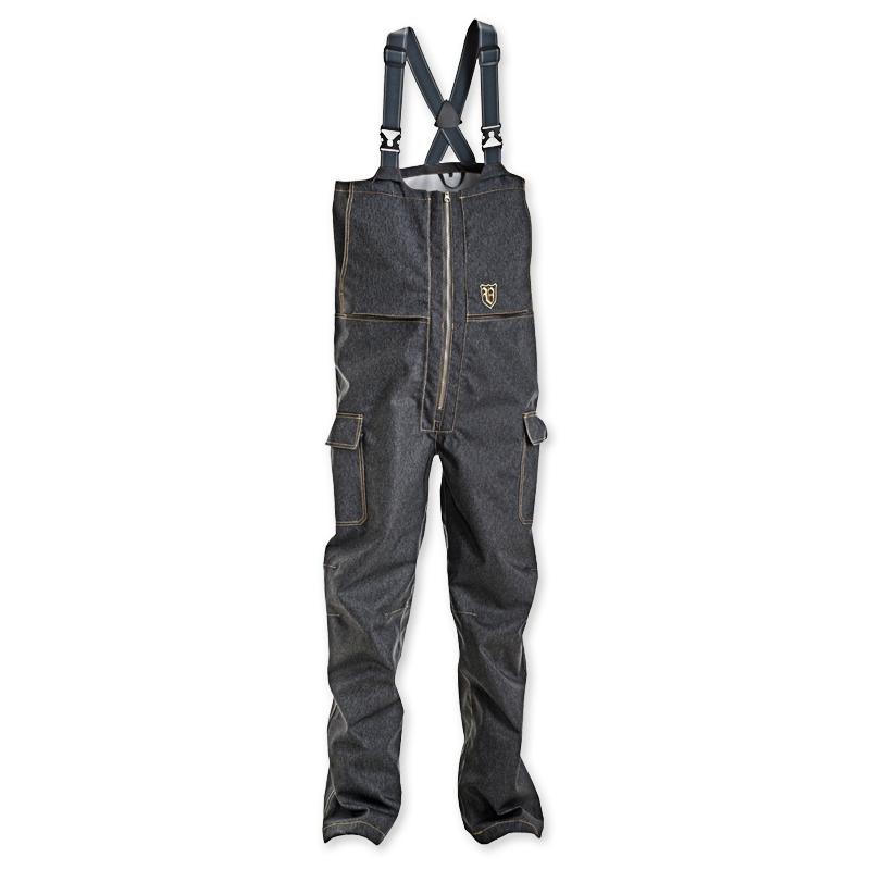 bib & brace trousers denim