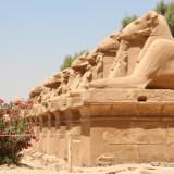 Eingang Karnak Tempel Luxor - Ägypten