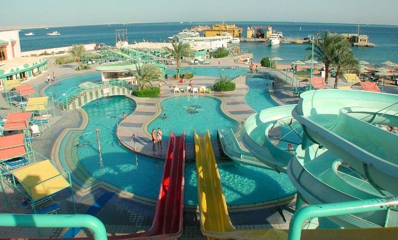 Hotels mit eigenem Aquapark Hurghada