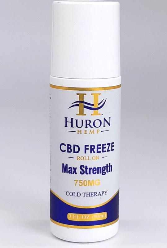 CBD Freeze Roll-On 750mg Max Strength