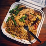 """Asian Lunch vom """"Panda Express"""""""