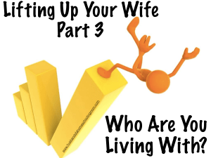 Who are you living with?